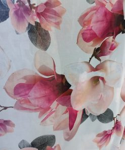 Voal imprimt flori